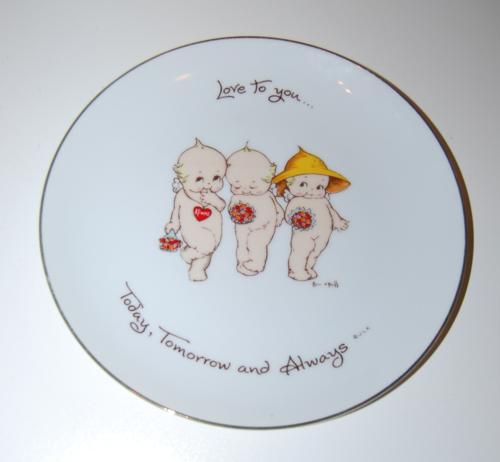 Kewpie plate