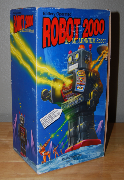 Robot 2000 box