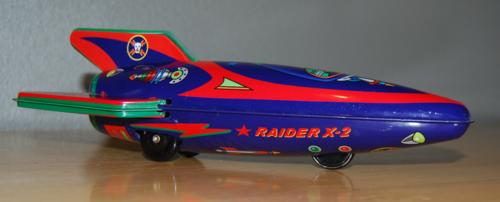 Raider x2 rocket