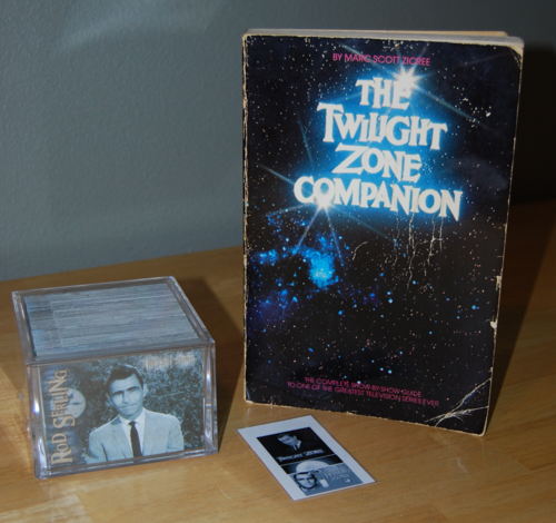 Twilight zone cards book