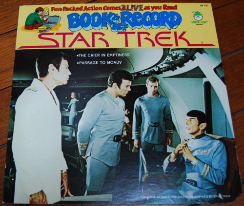 Star trek peter pan record book