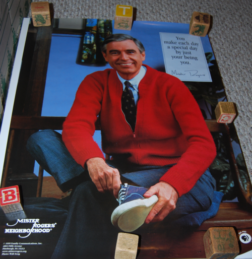 Mister rogers poster