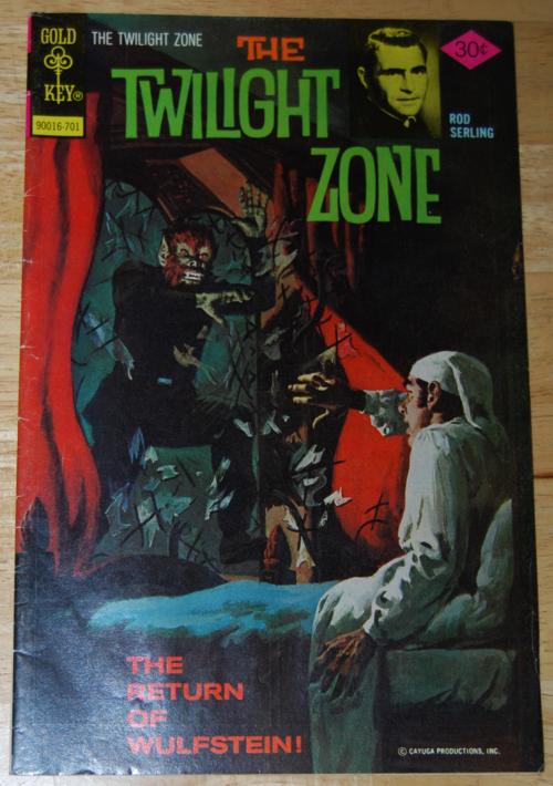 Twilight zone comic 10