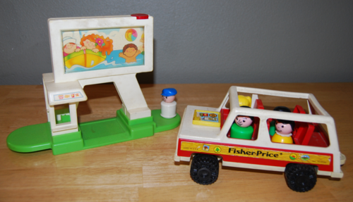 Fisher price drive in 3