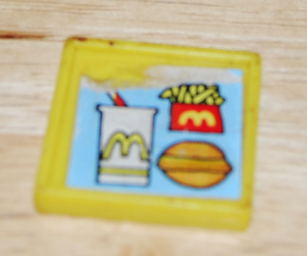 Playskool mcdonalds kids meal