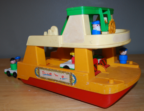 Fisher price ferry