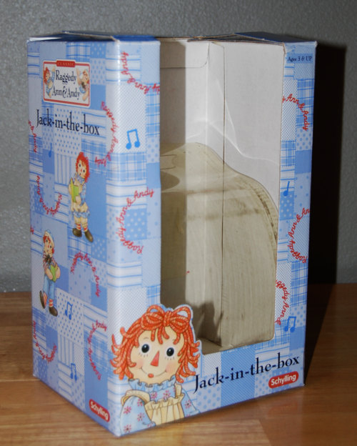 Raggedy ann jack in the box
