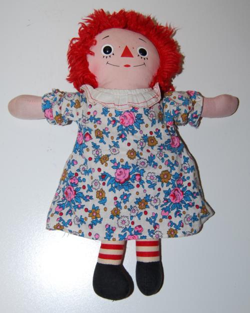 Vintage raggedy ann doll 1
