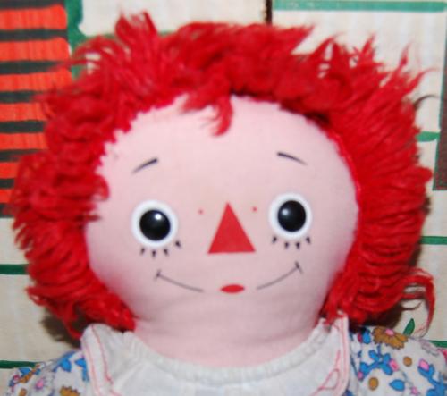 Vintage raggedy ann doll 4
