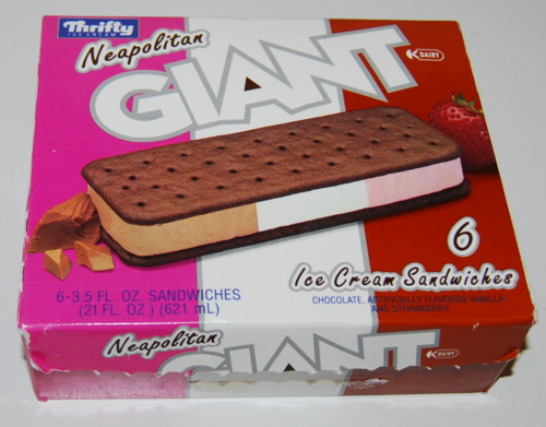 Thrifty neopolitan ice cream 3
