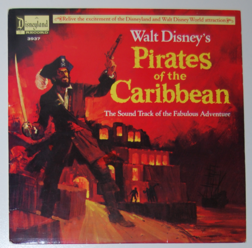 Pirates of the caribbean lp