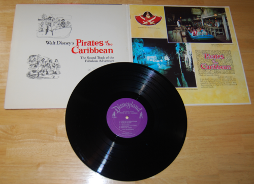 Pirates of the caribbean book lp