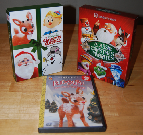 Rankin bass christmas dvds