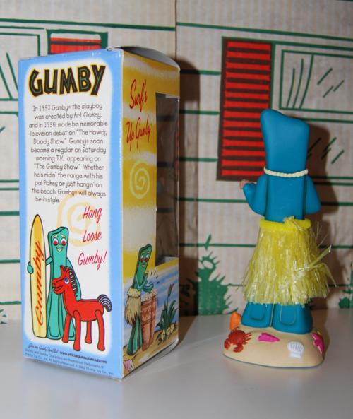 Gumby wacky wobbler back