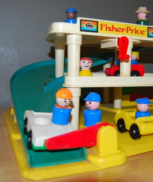 Fisher price garage 3