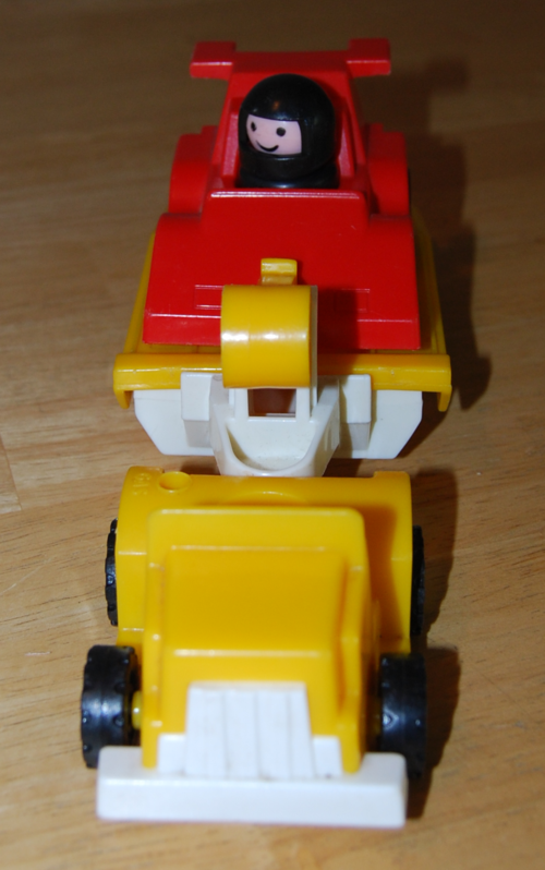 Fisher price race car driver