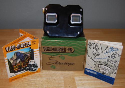 Vintage viewmaster 4