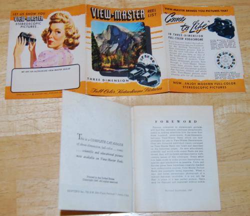 Vintage viewmaster 5