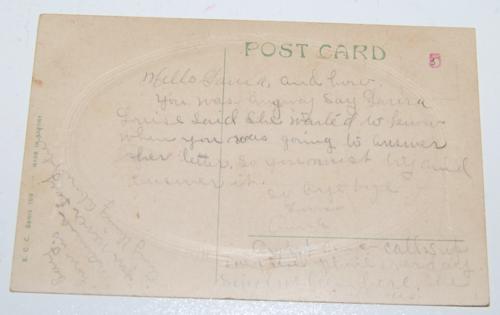 Vintage postcard kittens 2