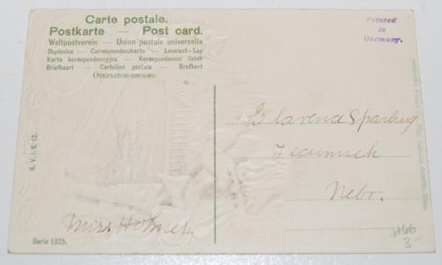 Vintage postcard kitty 2