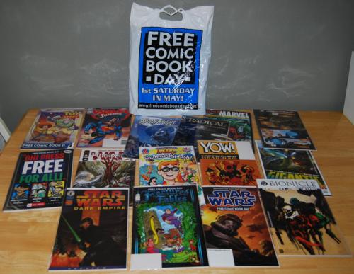 Free comic book lot 3
