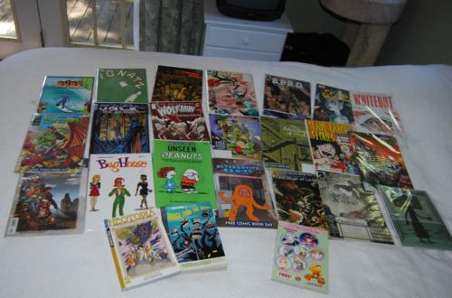 Free comic book lot 4