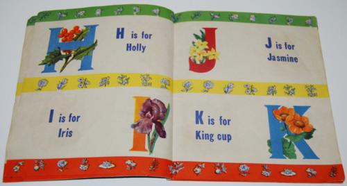 Alphabet book of flowers 2