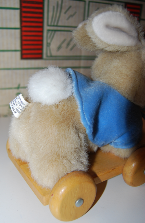 Peter rabbit pull toy 4