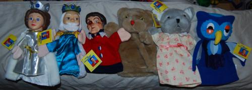 Neighborhood puppets
