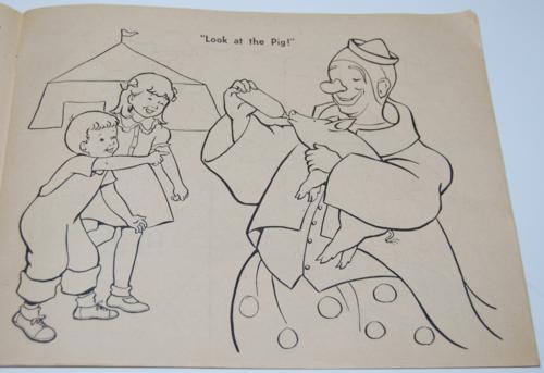 Circus coloring book 3