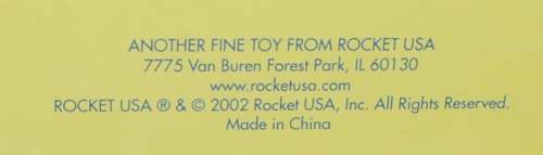 Bozo bop toy mark