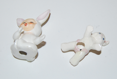 Ceramic bunny babies 2