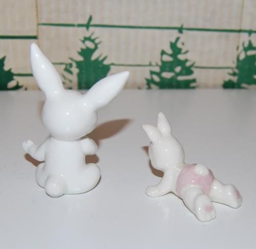 Ceramic bunny babies 3