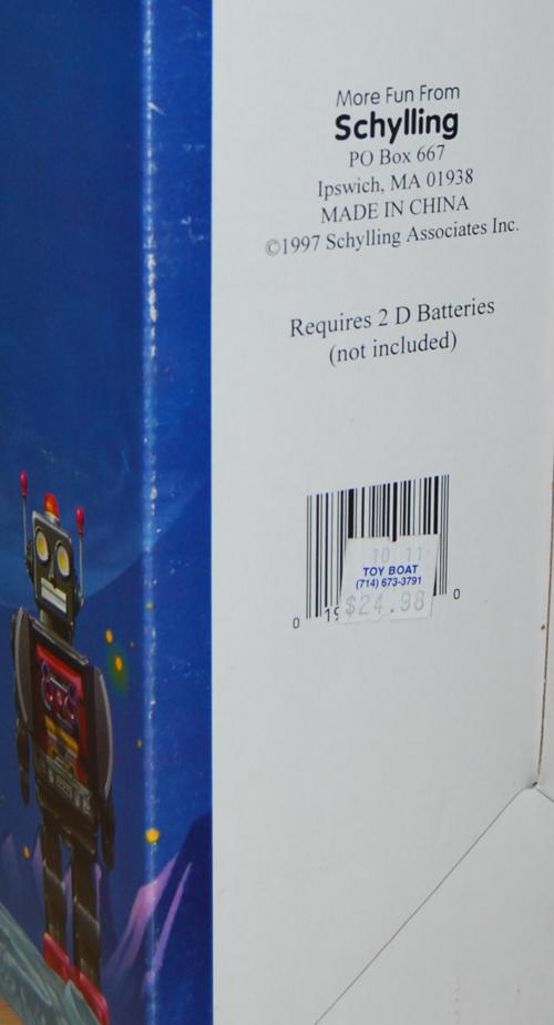 Robot 2000 box 2