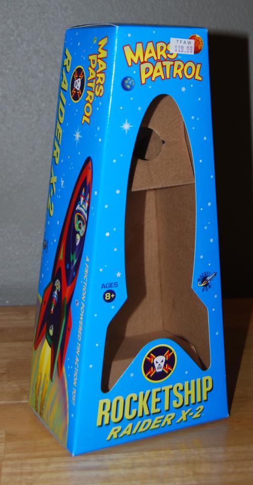 Mars patrol raider x2 box