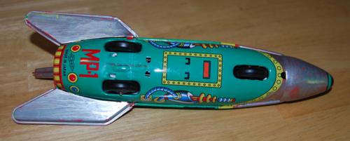 Tin rocket mp1
