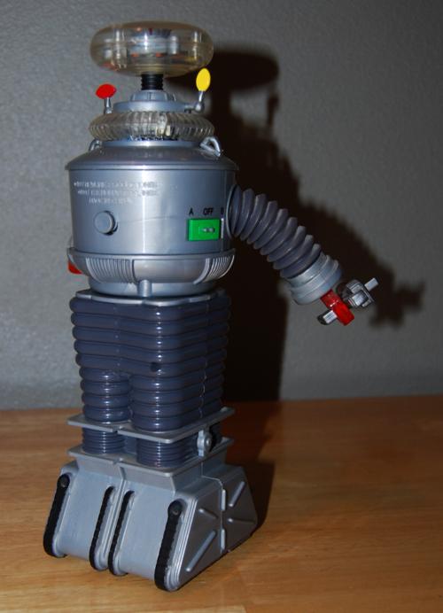 B9 talking rolling robot toy