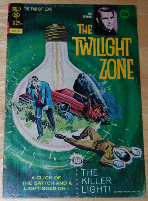 Twilight zone comic 3