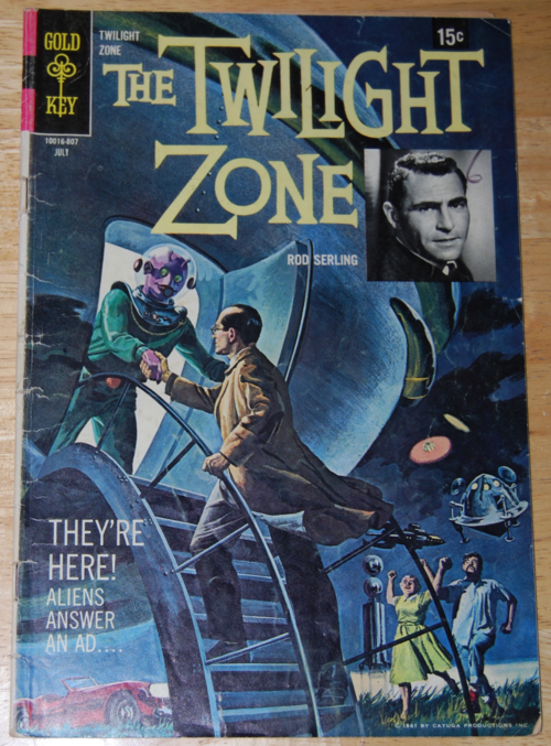 Twilight zone comic 12