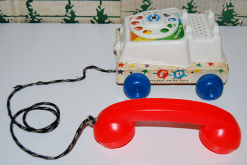 Fisher price original chatterphone 7