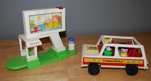 Fisher price drive in