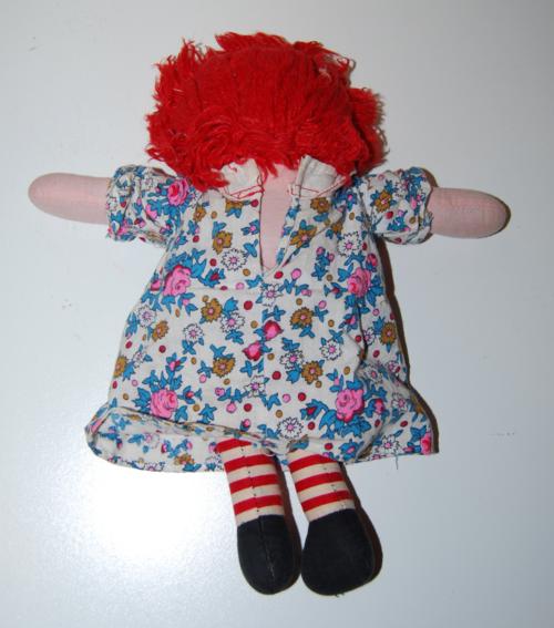 Vintage raggedy ann doll 2