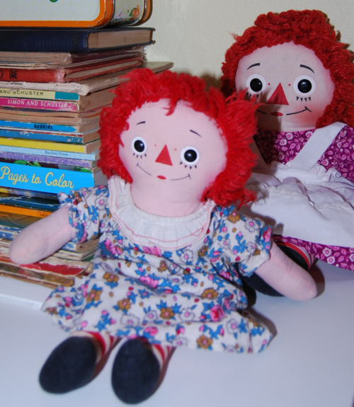 Vintage raggedy ann doll 5
