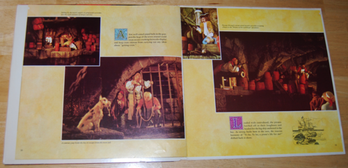 Pirates of the caribbean book lp 3