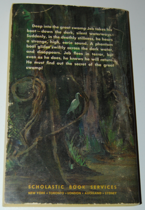 The mystery of the great swamp scholastic x