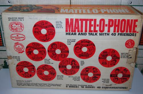 Mattel o phone box 1965 4
