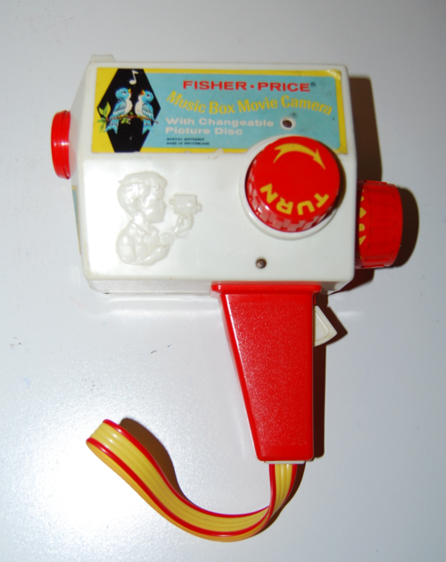 Fisher price music box musical camera