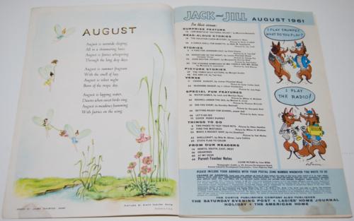 Jack & jill august 1961 1