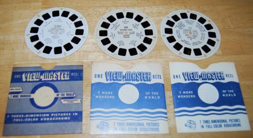 Vintage viewmaster 8