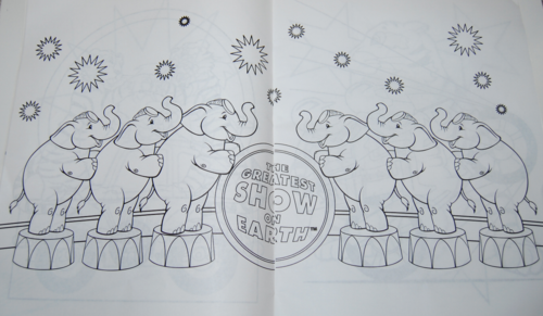 Ringling bros circus coloring book 4